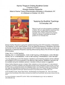 Applying Teachings 1 Oct 13